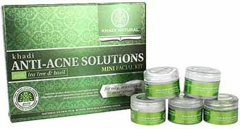 Kit facial Ayruvedic Anti-Acne de Khadi Natural
